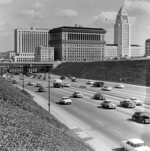 FWY 101 LOS ANGELES 1950