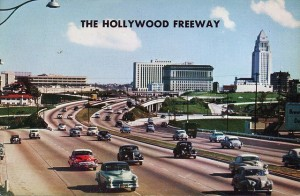 HOLLYWOOD FREEWAY 1940s 1950s