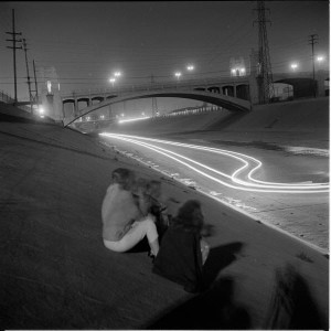 L.A. RIVER DRAG RACING 1950