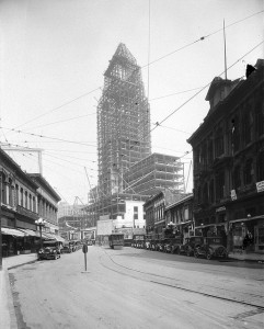 L.A.CITY HOOL IN CONSTRUCCTION 1928 1