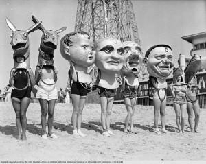 TRAJES DE BAÑO EN VENICE BEACH 1930 1